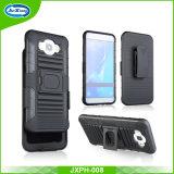 Hochleistungsplastik TPU 3 in 1 Ring Kickstand Telefon-Kasten-Deckel für Samsung J7 2016