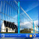 Il PVC ha verniciato il rifornimento di recinzione d'acciaio saldato 3 D in memoria