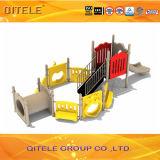 Kind-Spielplatz-Gerät mit Schleichen-Tunnel