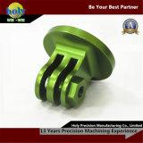 Het groene Geanodiseerde ElektroCNC Aluminium CNC die van de Molen van de Draai Delen machinaal bewerken