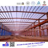 La luz diseñó el almacén de la estructura de acero