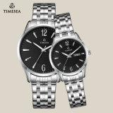 De alta calidad de acero inoxidable Hombres Regalo Regalo Reloj Watches70019
