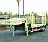 低い男の子のトレーラー、低いベッドのトレーラトラック40トンの