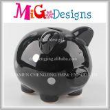 Caja de moneda de diseño de moda Caja de cerámica de dinero de cerdo