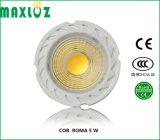 preço de fábrica 5W COB FARÓIS LED GU10