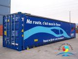 Kundenspezifischer Standardversandbehälter 10 FT/20 FT seitliche Öffnungs-Vorratsbehälter