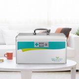 Portable-Ausrüstung-Multifunktionsmedizin-Kasten-Silber R8030