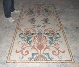 Medaglione del favo del reticolo di mosaico del marmo del getto di acqua per la pavimentazione dell'ingresso