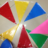 Promotion écologique Printed PVC Polyester Bunting String Flags
