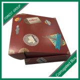 Питание в подарочной упаковке крафт-бумаги Corrugarted окно упаковки