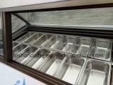 Congelador italiano do caso de indicador de B24 Gelato