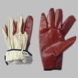 Les nitriles lourds ont feuilleté le gant de travail de l'hiver de doublure du Jersey (5405)