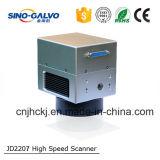 Machine van de Laser van de Scanner van Co2 Js1105 van de hoge snelheid de Lichtgewicht Medische Verwaarloosbare