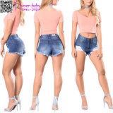 Non può batterlo giù i jeans L541 di Shorts delle signore