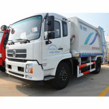 4X2 Dongfeng 8 tonne compacteur à ordures chariot
