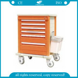 AG-Mt002A1 convainquent le chariot médical clinique à matériel d'hôpital