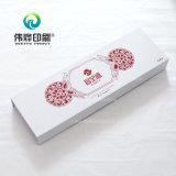 Uso rígido branco da caixa de presente da impressão para o empacotamento de alimento