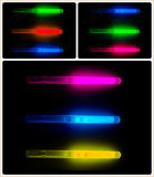 Parte juguetes pequeños de la luz de silbar, Glow Stick