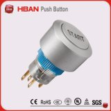 22mm Round Self Reset Pus Hbutton Switch