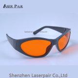 Cuatro gafas de seguridad de laser del marco /Goggle para 200-532nm para el laser verde