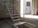 Ringlockの足場(階段、階段踏面、階段縦桁)のためのステアケース