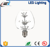 G125 Heat Shape Epistar LED Ampoule à grand filament