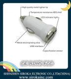 탄알 공장 공급 2 USB를 가진 이중 USB DC 셀룰라 전화 충전기 운반 5V 2.1A