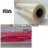 Haut de la vente Bonne couleur à haute ténacité Transperancy PE Stretch Film étirable
