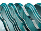 Horizontal CNC 3 axes de bord en verre pour le verre de meubles de la machine de meulage