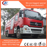 6X4 Tianlong 12000liters secam o guindaste montado carro de bombeiros de Podwer