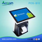 인쇄 기계를 가진 1개의 POS 단말기에서 POS-B10 인조 인간 접촉 전부