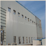 安いプレハブの建物によって電流を通される金属の構造