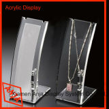 상점 Display를 위한 휴대용 Acrylic Necklace Stand