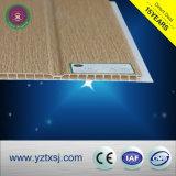 薄板にされた木製カラー2溝の熱い販売PVCパネル