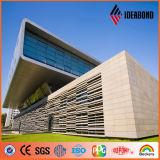 Ideabond PVDF 돌 Exture 외부 벽 알루미늄 합성 위원회