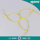 Attache de câble électrique de couleur en nylon PA66 Fabricants