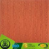 Papel decorativo del grano de madera de los laminados