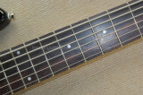 La musique Hanhai/tabac Sunburst 6 cordes de guitare basse électrique (Sting Ray)