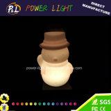 Lindo e impermeável Decoração de Natal LED Snowman Light