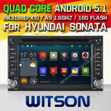 Автомобиль DVD Android 5.1 Witson для сонаты Hyundai (W2-F9900y)