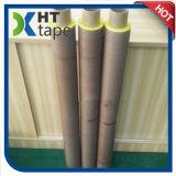 Resistente al calor de la cinta de tela de Teflón PTFE con camisa amarilla