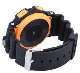 第1 A10 3証拠のスポーツのBluetoothの心拍数のSmartwatchの歩数計1.2のインチLCDスクリーンサポートアラーム天気予報のスマートな腕時計の青カラー