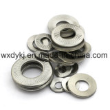 DIN2093 de KegelWasmachines van de Lente van de Schijf van het roestvrij staal