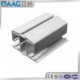 Perfil de alumínio para os trilhos de vidro