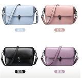 Le signore scelgono il sacchetto del messaggio del sacchetto di spalla