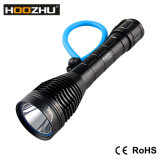 CREE LED 100meters impermeabile di Hoozhu D12 per l'indicatore luminoso di immersione subacquea
