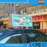 Знак цвета СИД таксомотора P5 верхний напольный полный видео- для рекламировать
