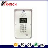 2016 Sistema de control de acceso de teléfono Knzd-51 de interfono con una función de lector de tarjetas de proximidad