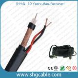 Combo du câble coaxial de liaison RG6/U+2c de qualité