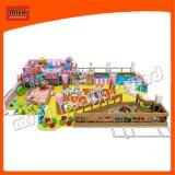 Neuer Entwurf des Innenweichen Spielwaren-Plastikspielplatzes mit Kugel-Vertiefung